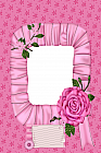 Pink Rose Photo Frame
